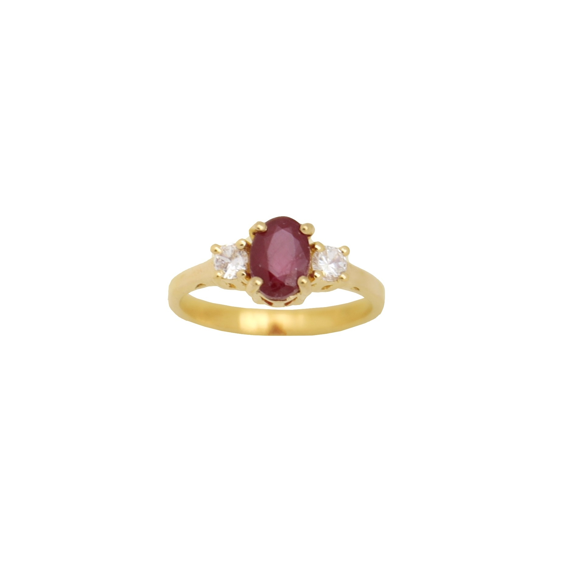 Product image Ring Vintage Ruby
