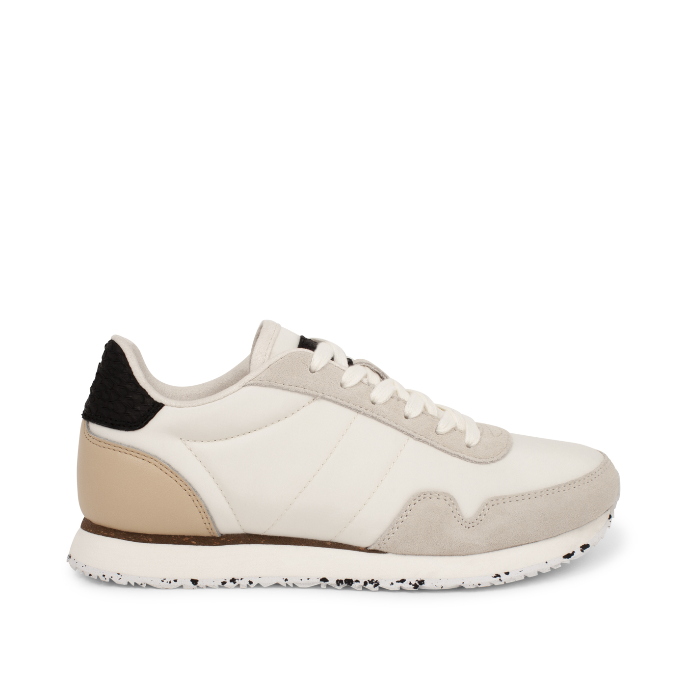 Product image Woden Nora III Dames Sneaker White Suede