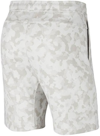 Product image Tech fleece short camo wit