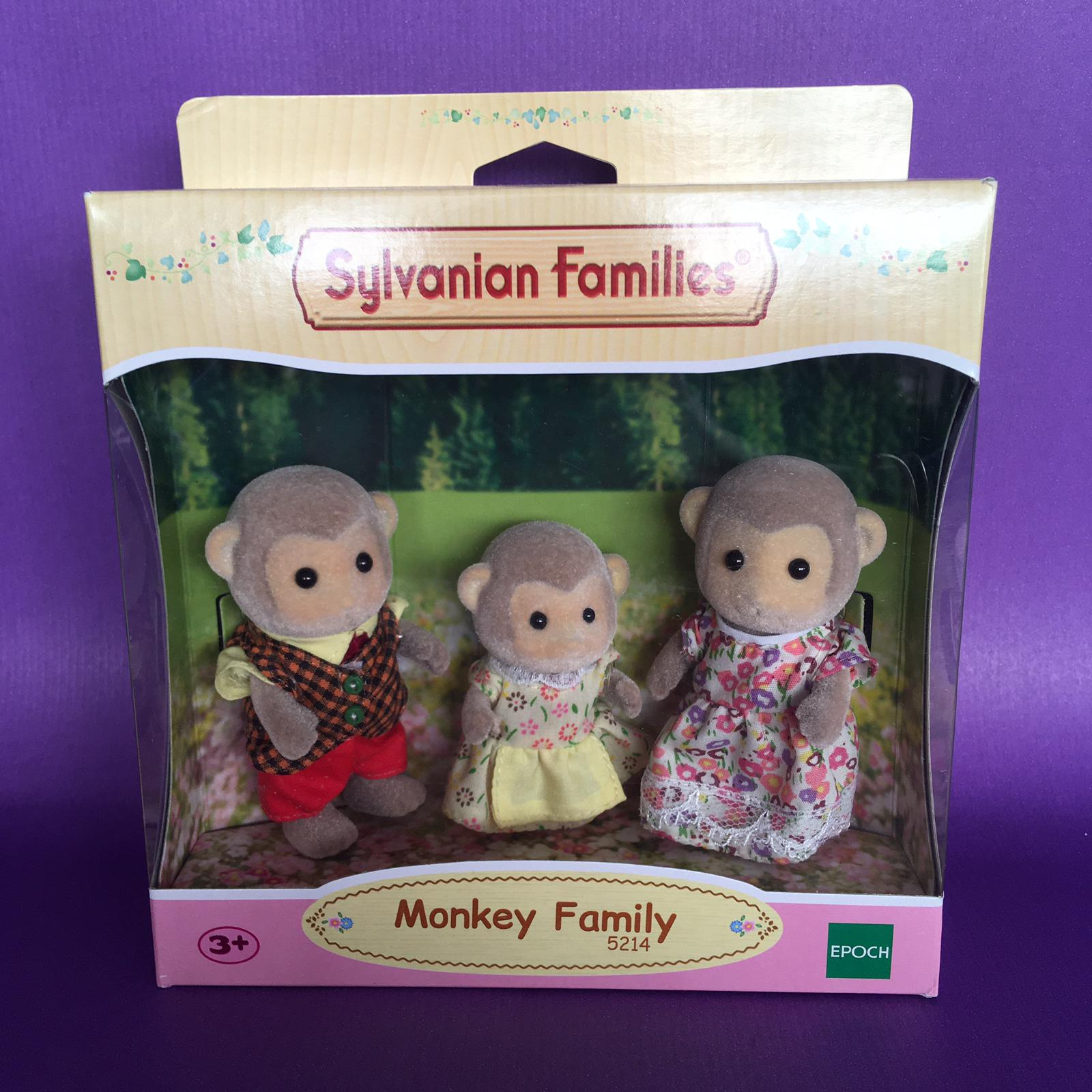 Product image Sylvanian Families Monkey Family