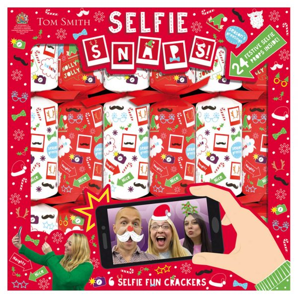 Product image 6 Christmas Crackers Selfie fun
