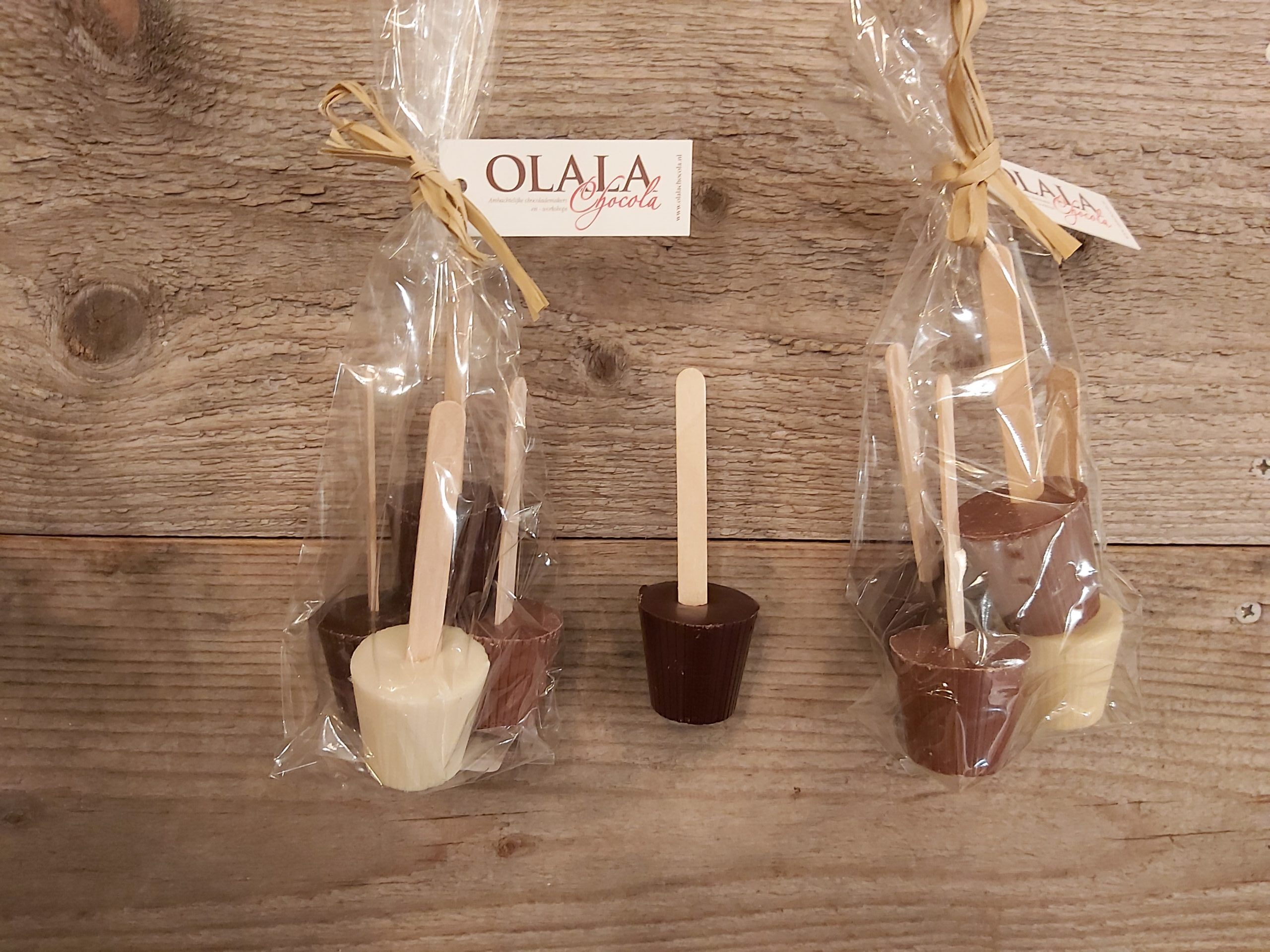 Product image Chocolademelk lolly's