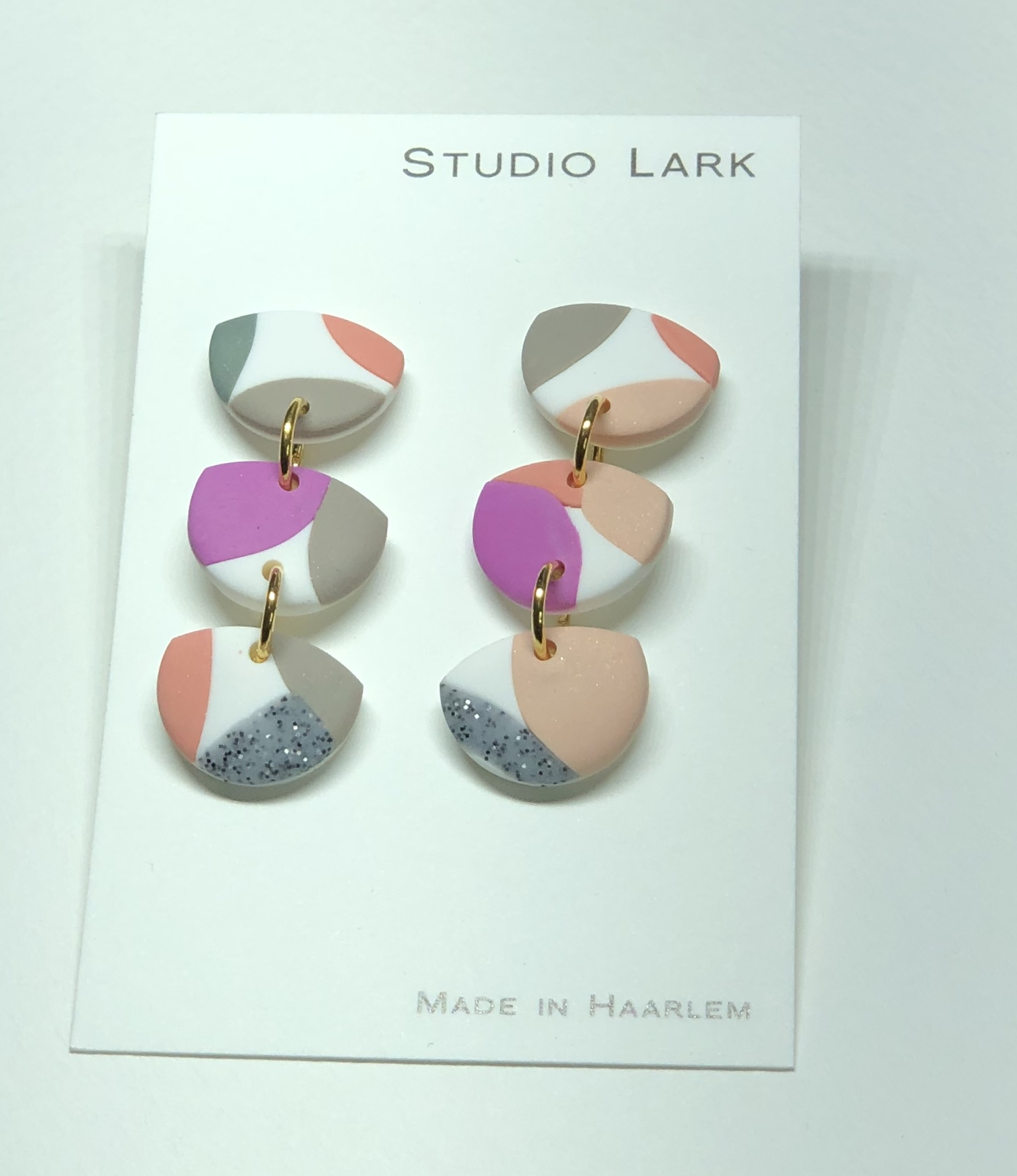 Product image Flint Drop Earring in Block Colours