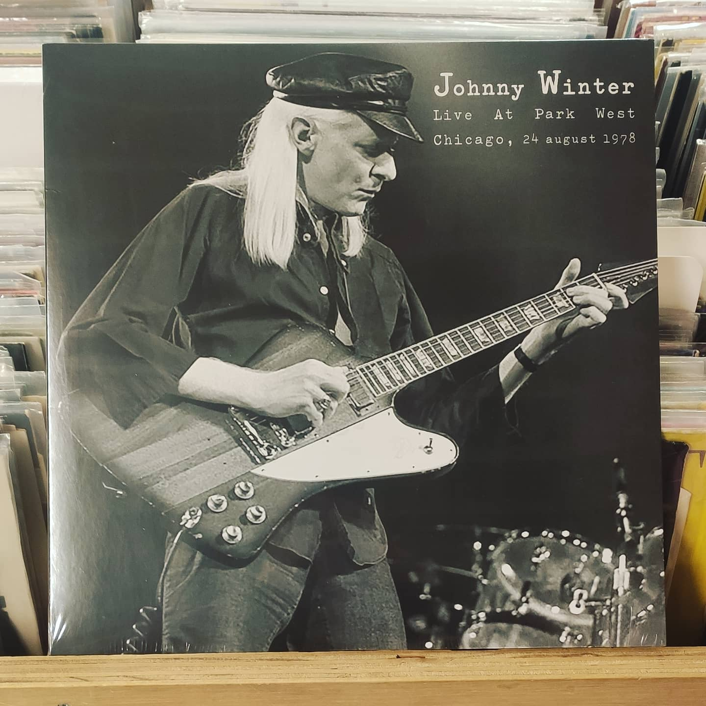 Product image Johnny Winter – live at park west, Chicago – LP Nieuw