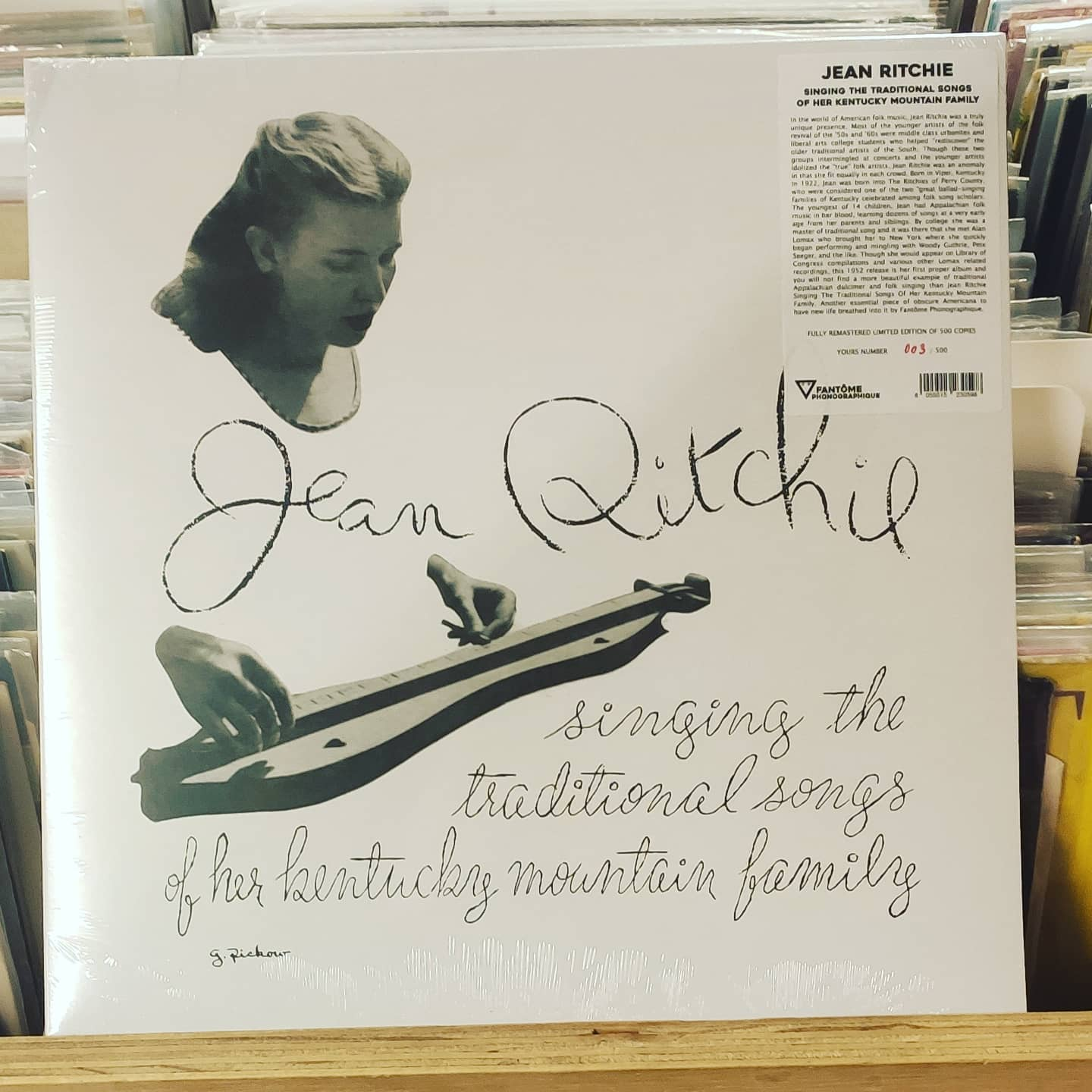 Product image Jean Ritchie – (American folk music) – nieuw lp