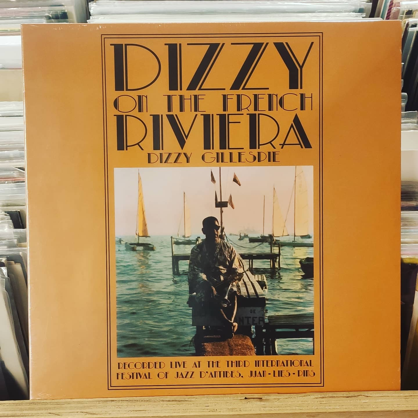 Product image Dizzy Gillespie – at the french riviera – LP Nieuw