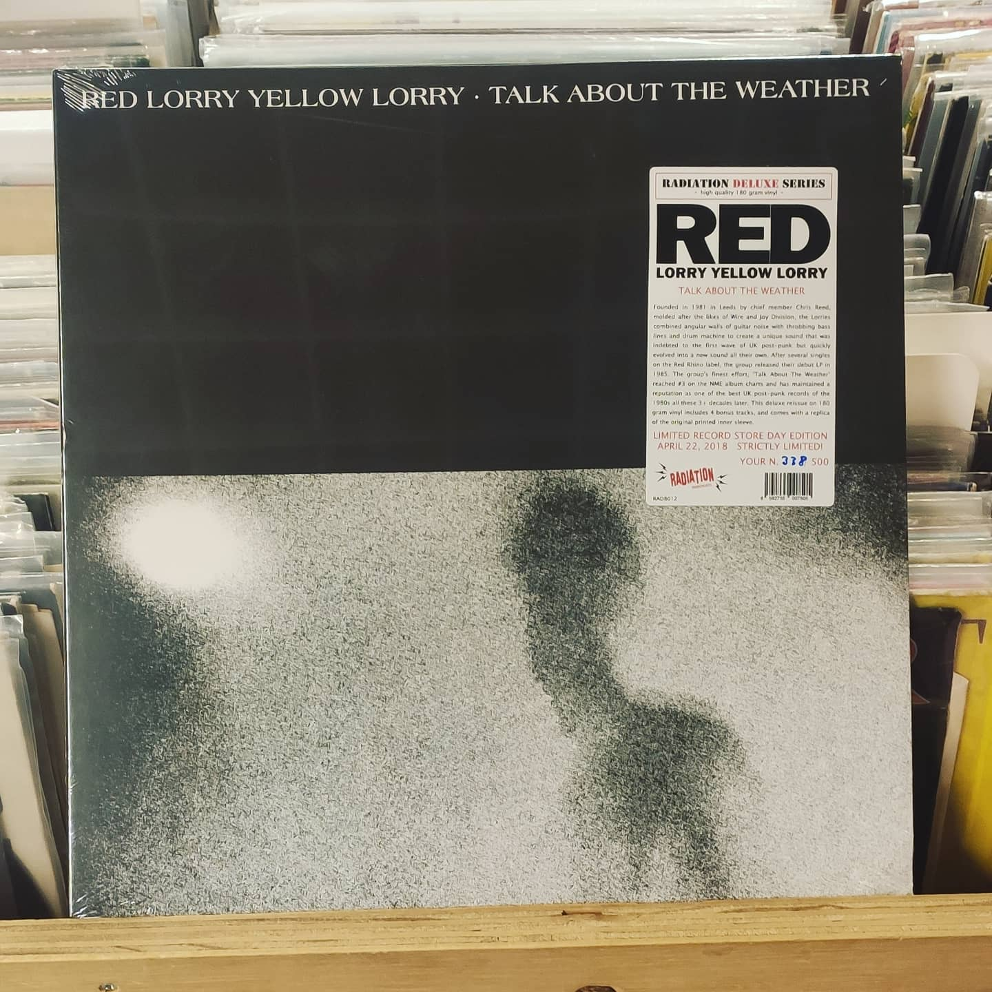 Product image red lorry yellow lorry – talk about the weather – nieuw lp – limited