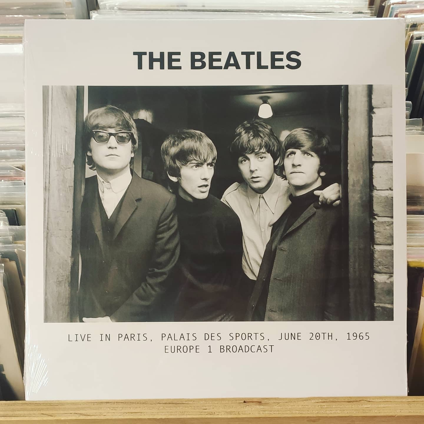 Product image The Beatles Live in Paris, Palais des Sports, LP Nieuw