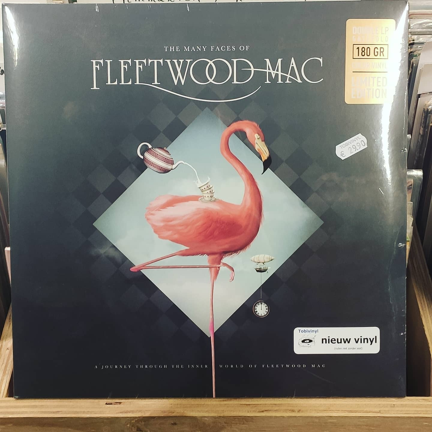 Product image Fleetwood Mac – The Many Faces of Fleetwood Mac – Dubbel LP – Nieuw