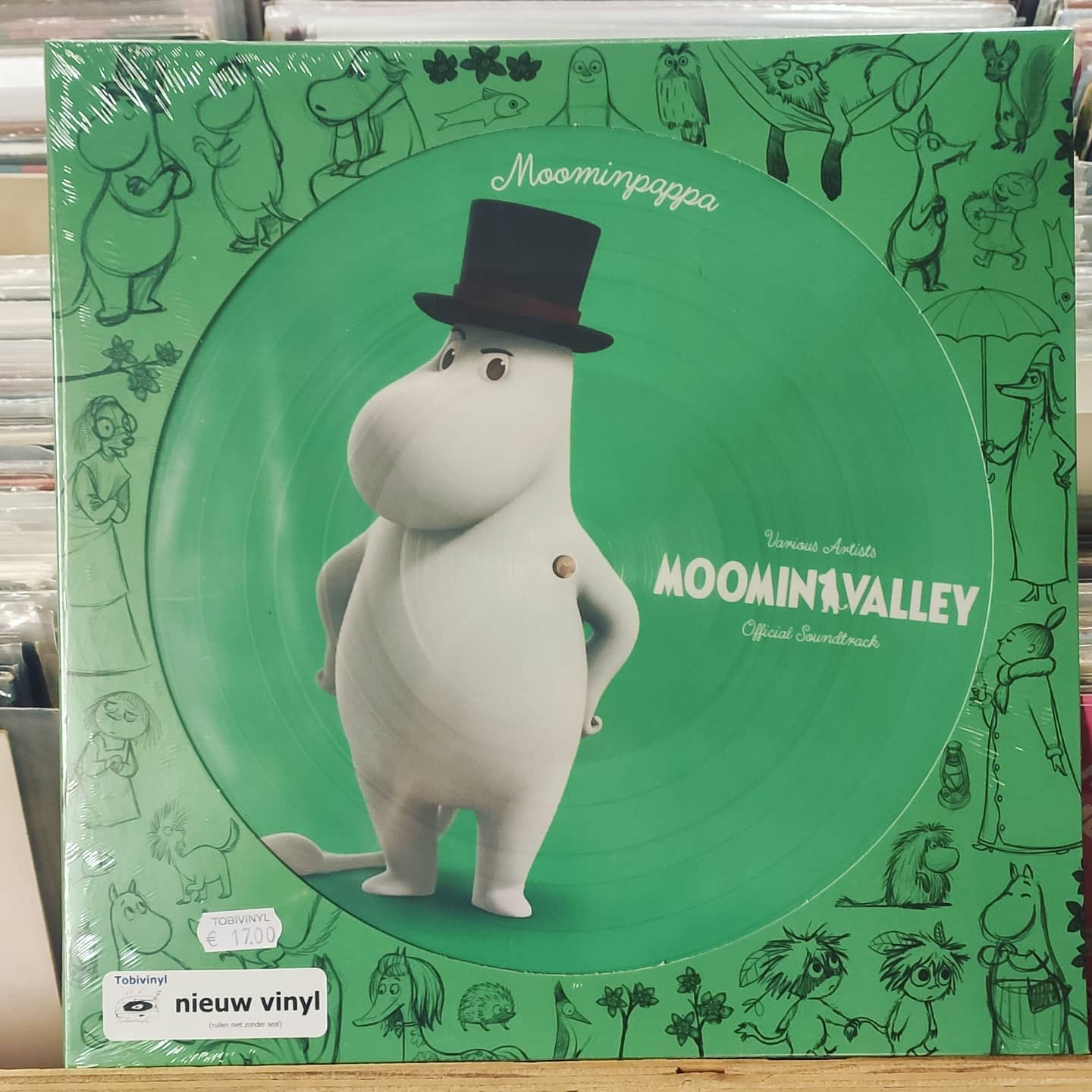Product image Moomin Valley, Moomin Pappa – Original Soundtrack – Picture Disc – Nieuw