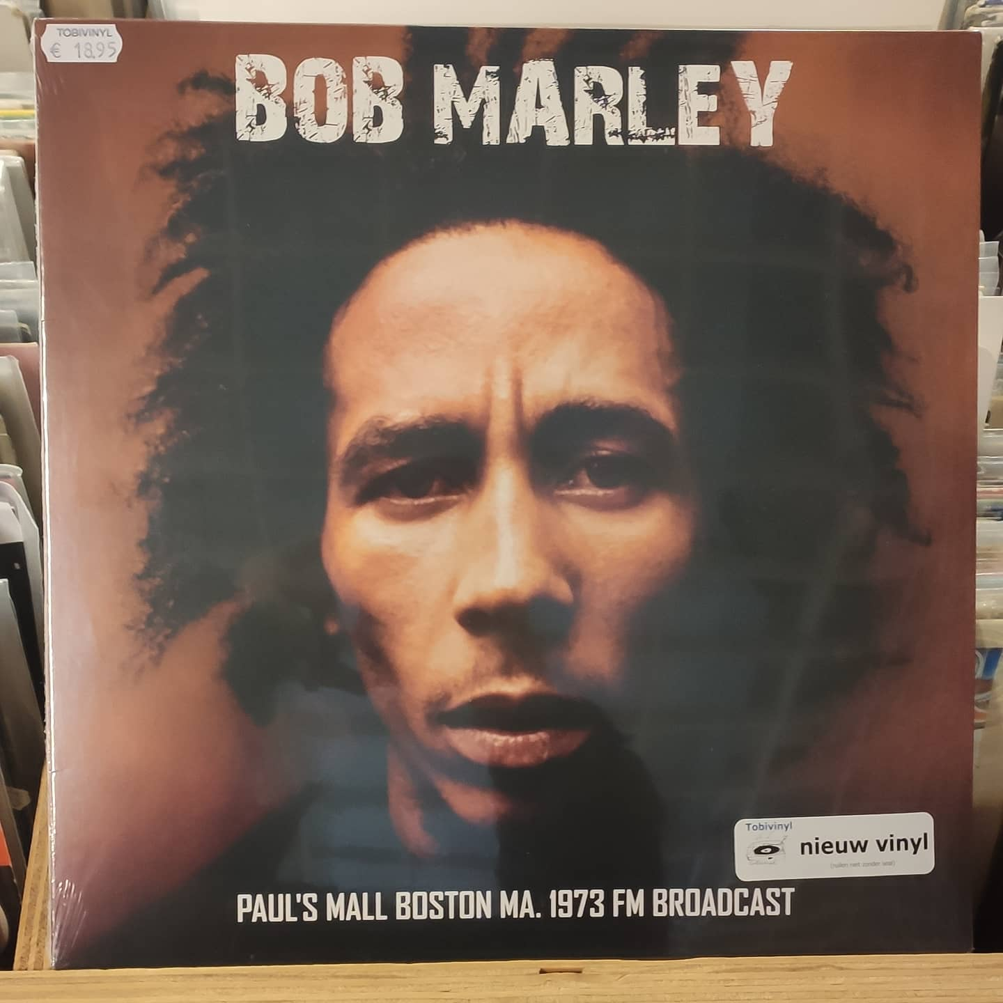 Product image Bob Marley – Paul's Mall Boston MA. 1973 FM Broadcast – LP Nieuw