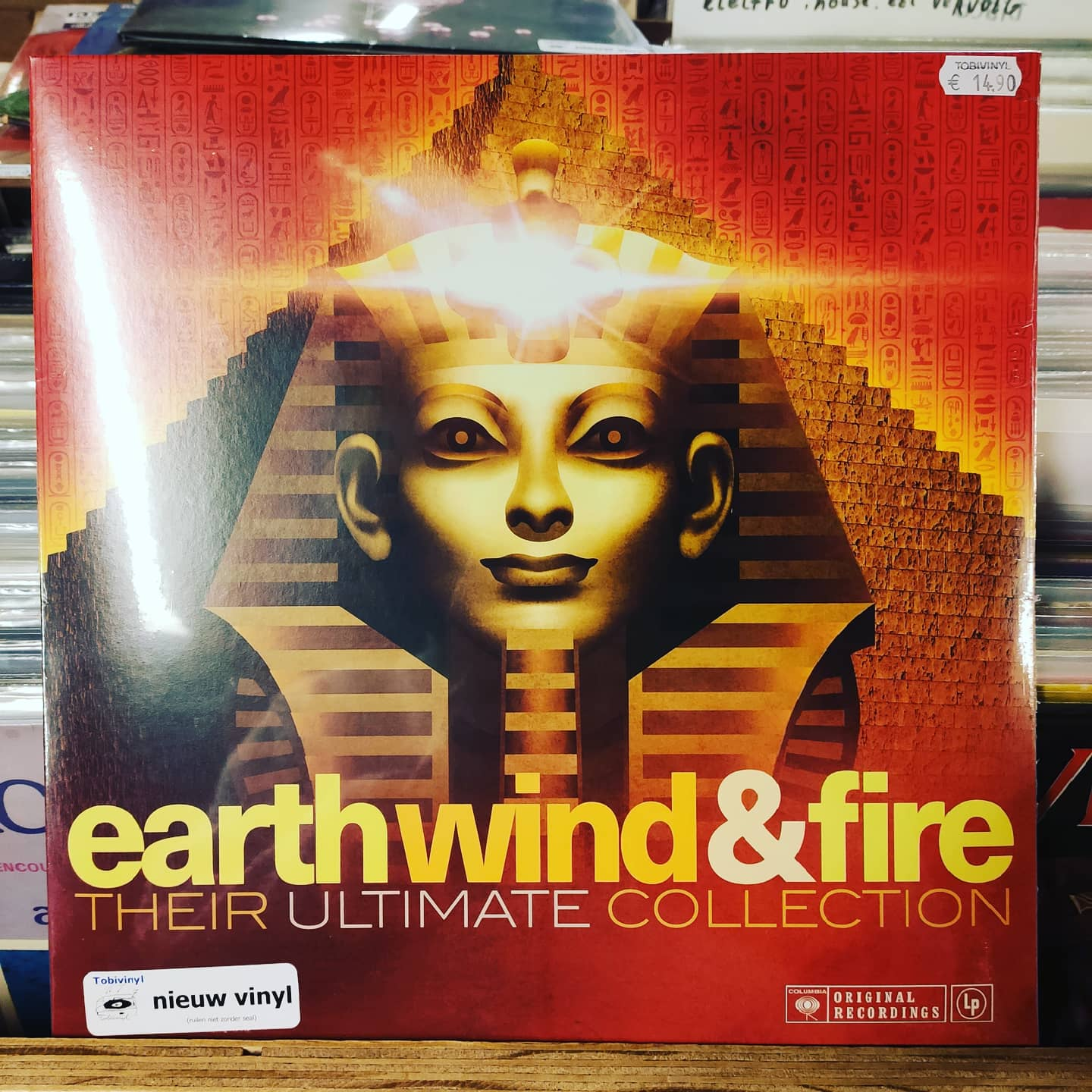 Product image Earth Wind & Fire – Their Ultimate Collection – LP Nieuw