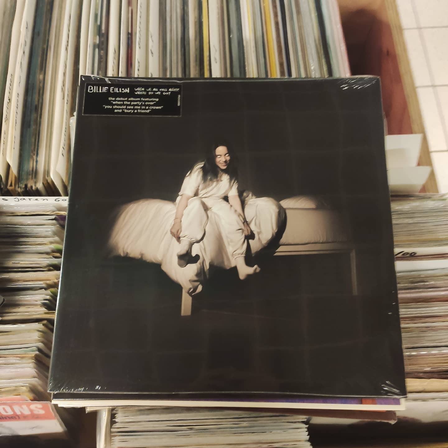 Product image Billie Eilish – When We All Fall Asleep, Where Do We Go? – LP Nieuw