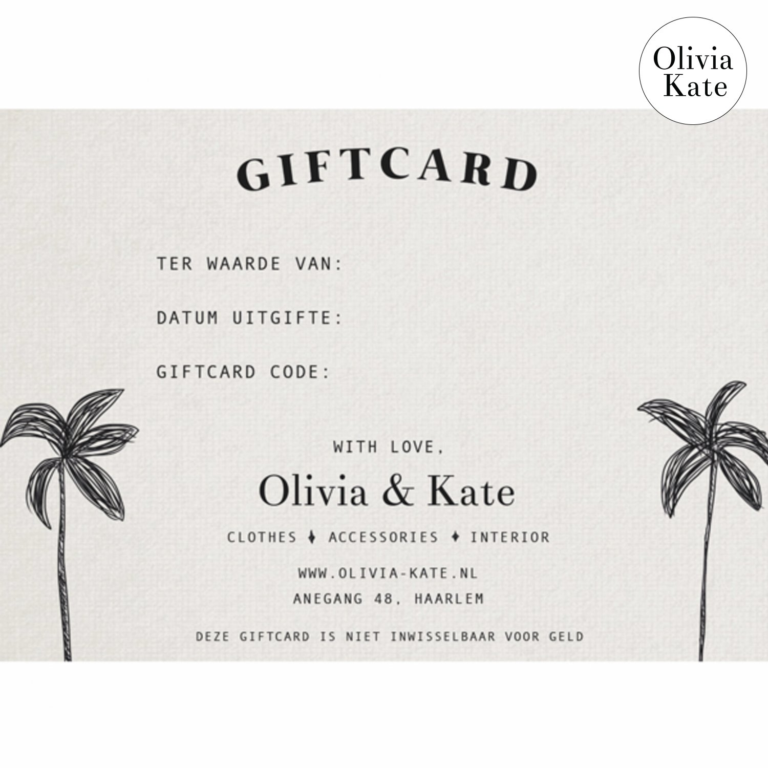 Product image Giftcard