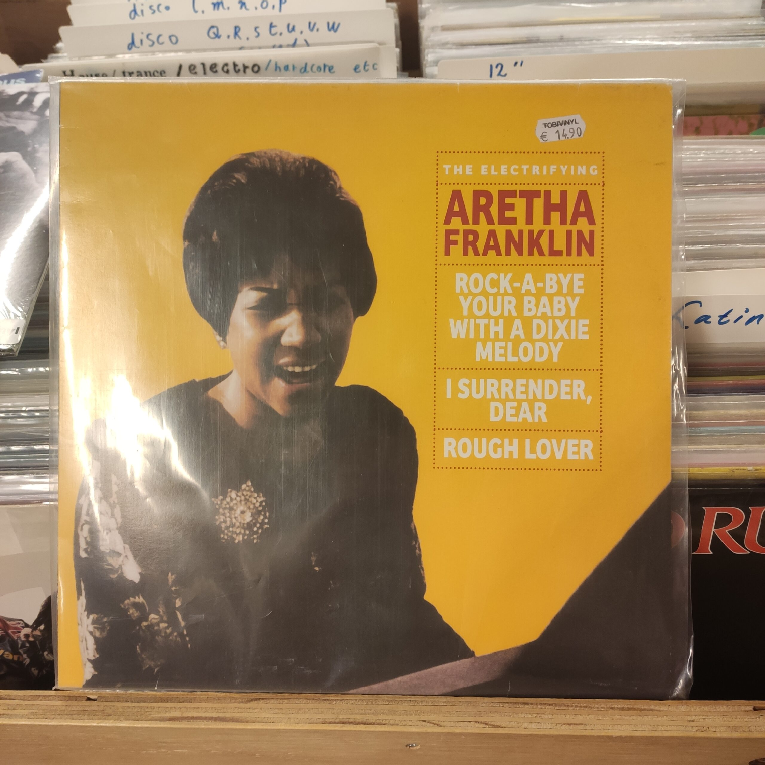 Product image Aretha Franklin – The electrifying Aretha Franklin – LP Nieuw