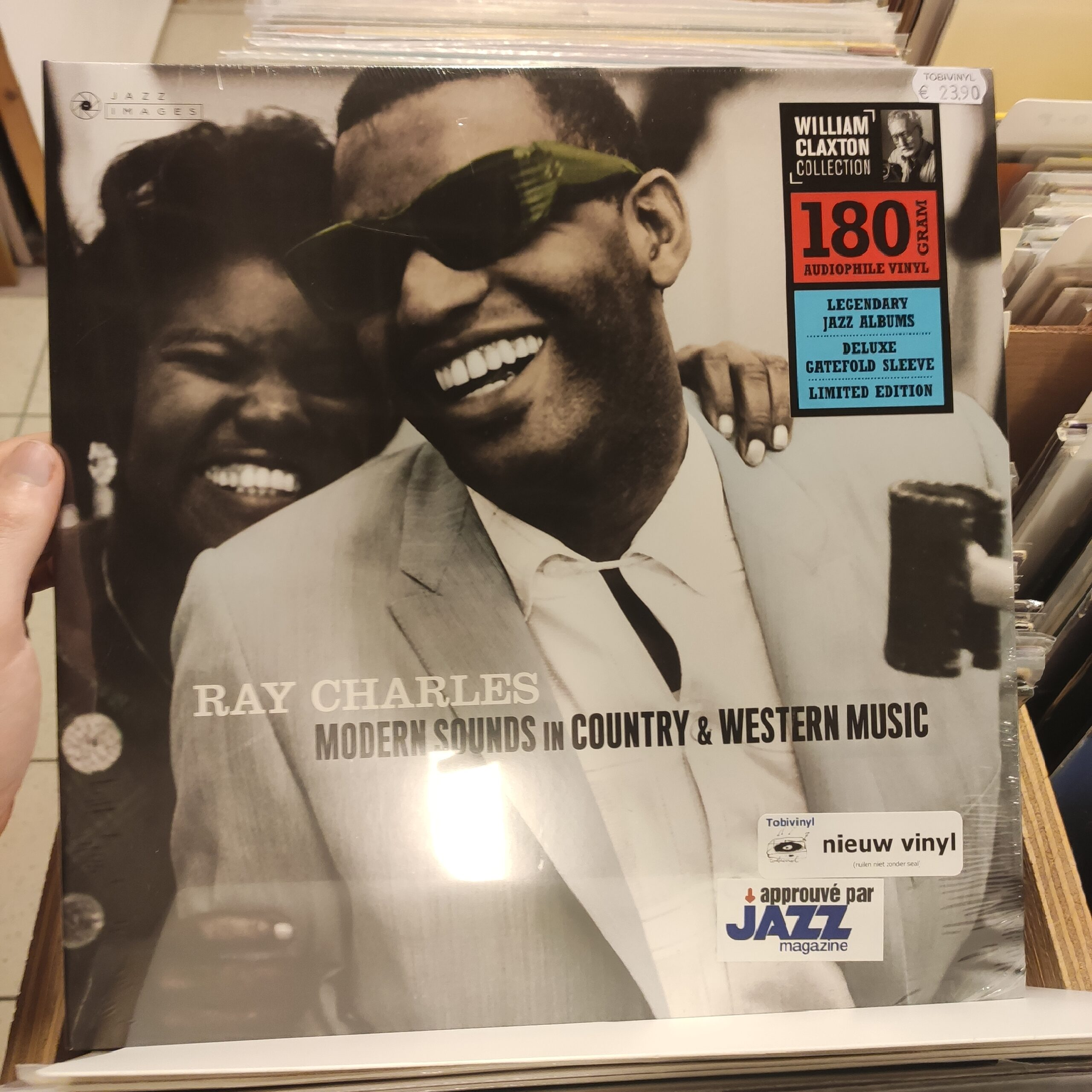 Product image Ray Charles – Modern sounds in Country and Western Music – LP Nieuw