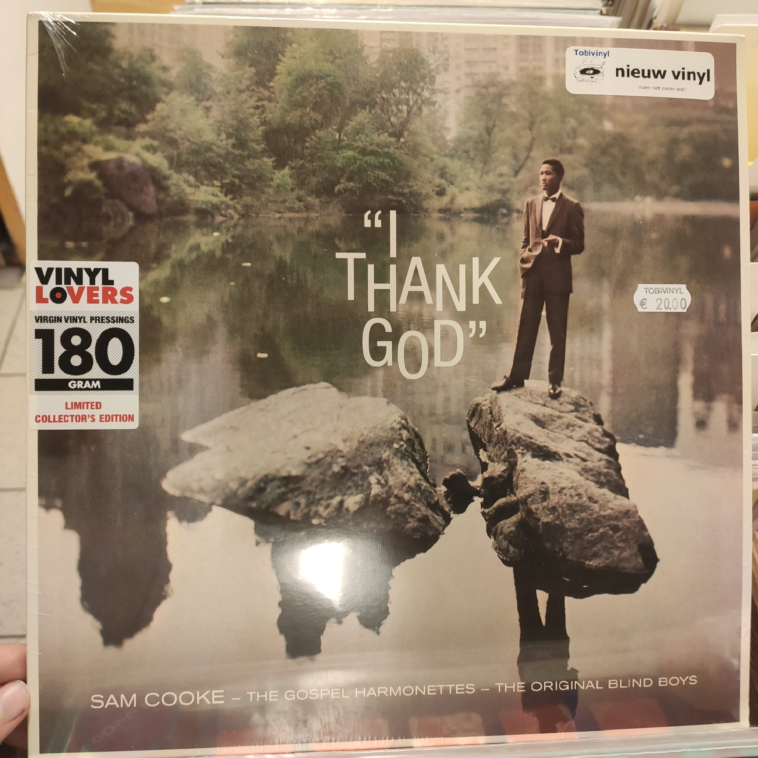 Product image Sam Cooke – I Thank God – LP Nieuw