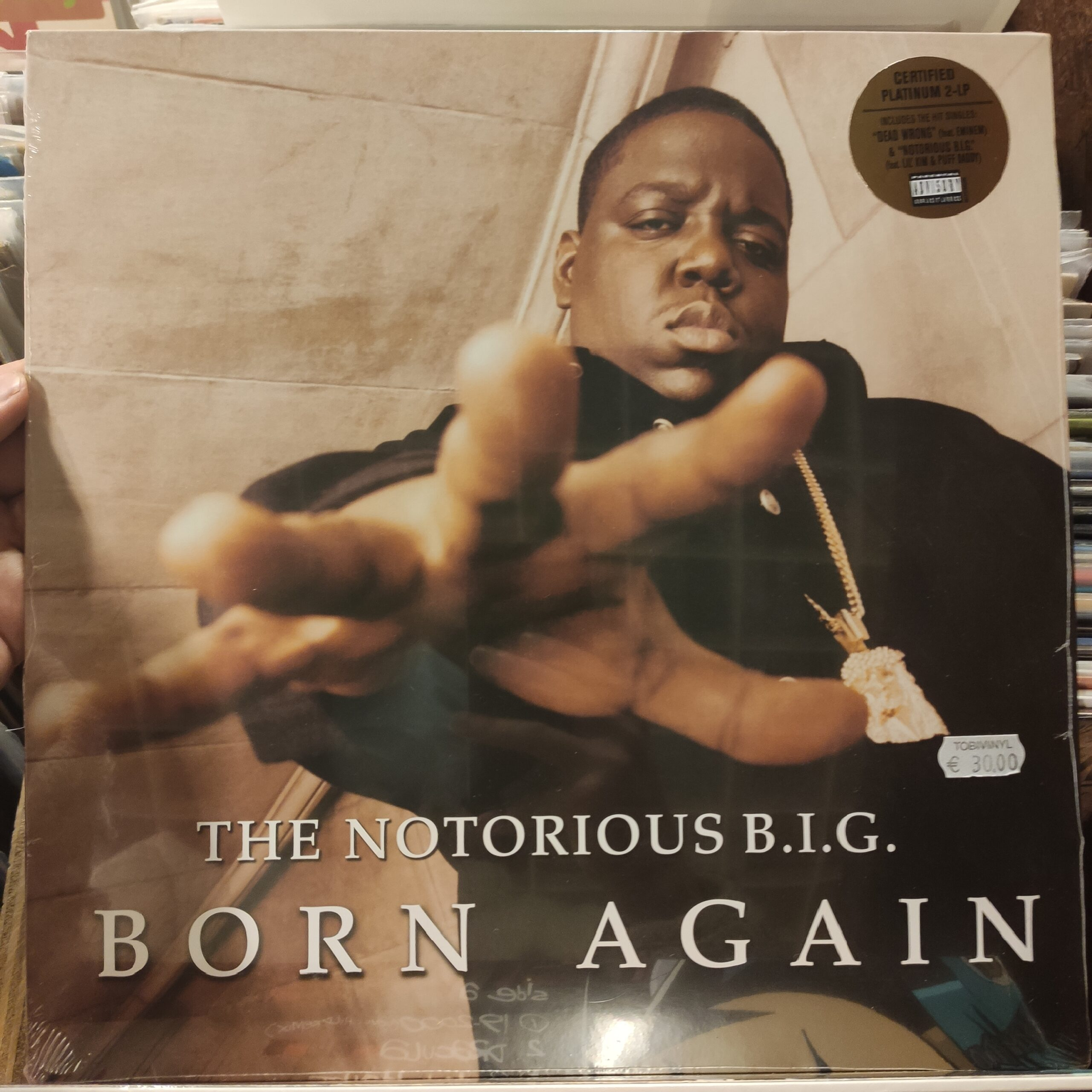 Product image the notorious B.I.G. – born again – dubbel lp – nieuw lp
