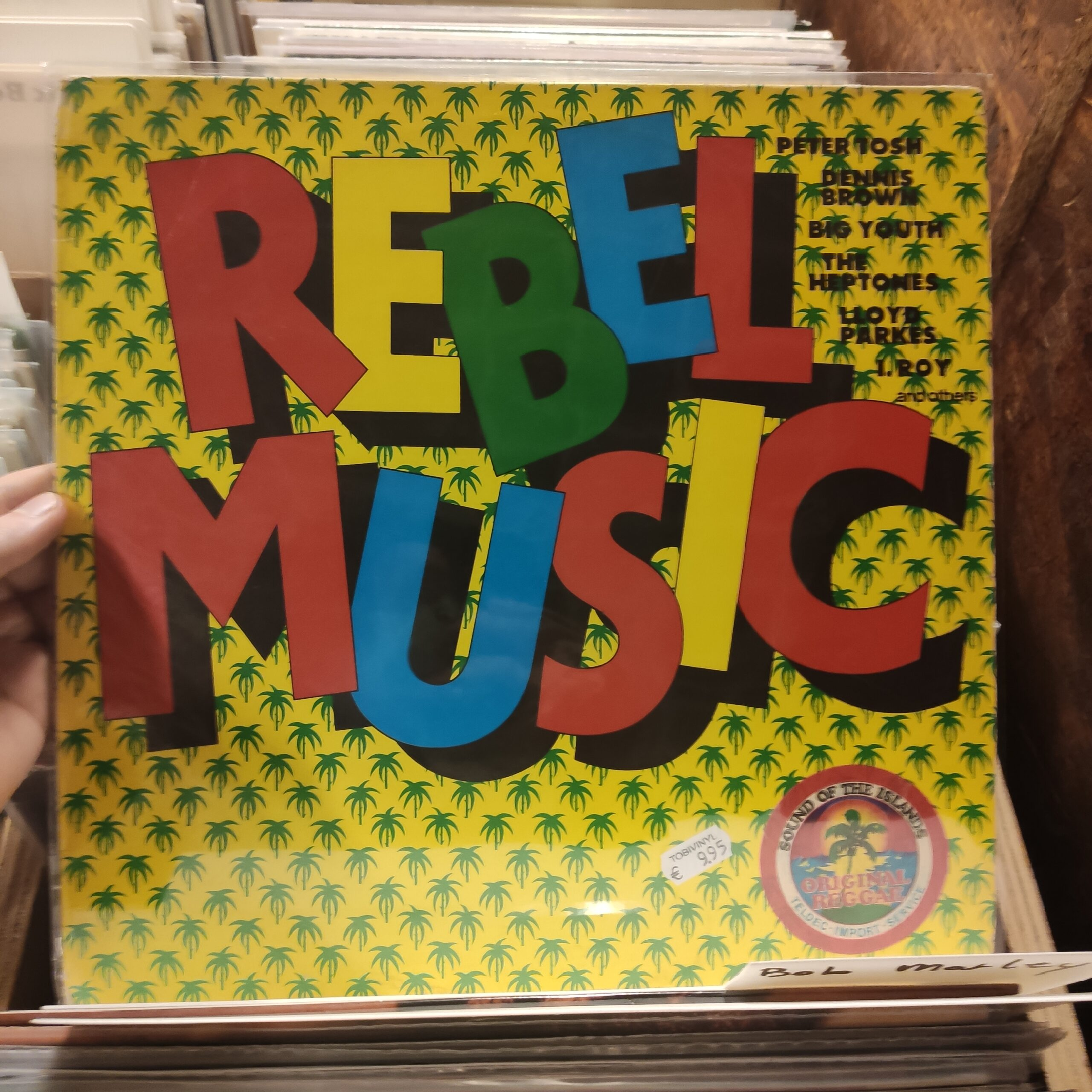 Product image rebel music – tweede hands lp (reggae)