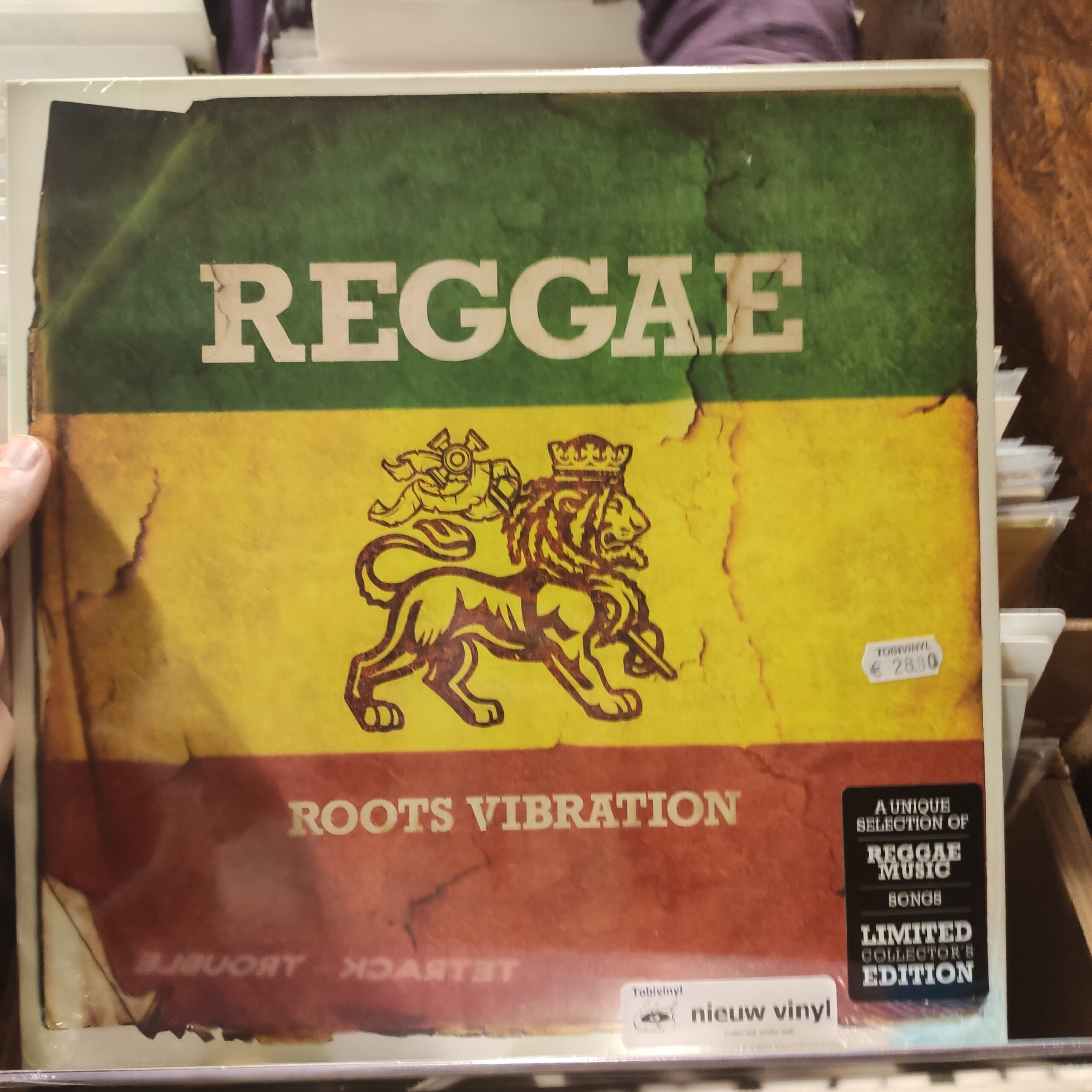 Product image Roots of Reggae – Roots Vibration – LP Nieuw