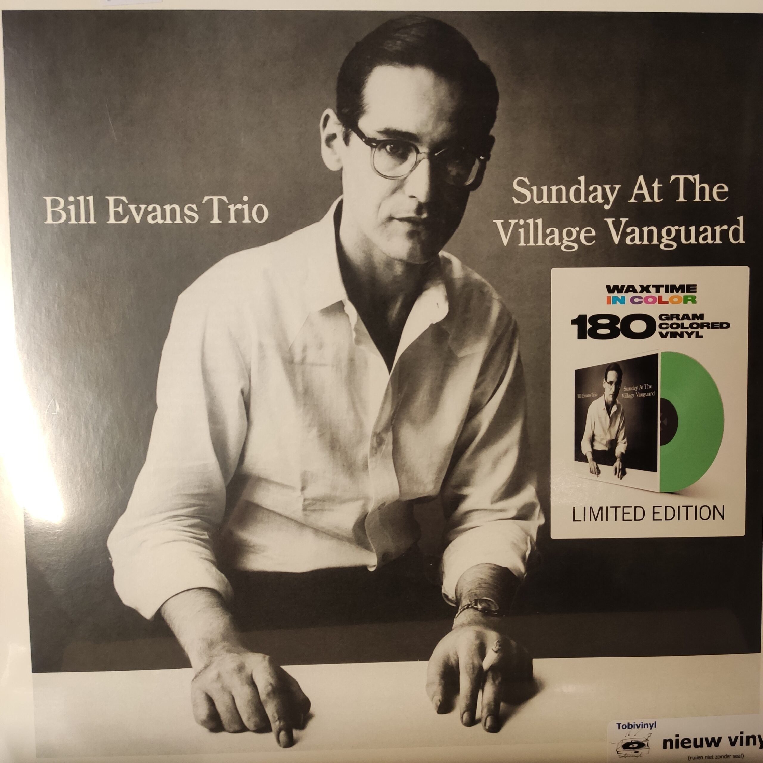 Product image Bill Evans trio – sunday at the village vanguard – nieuw vinyl – gekleurd lp
