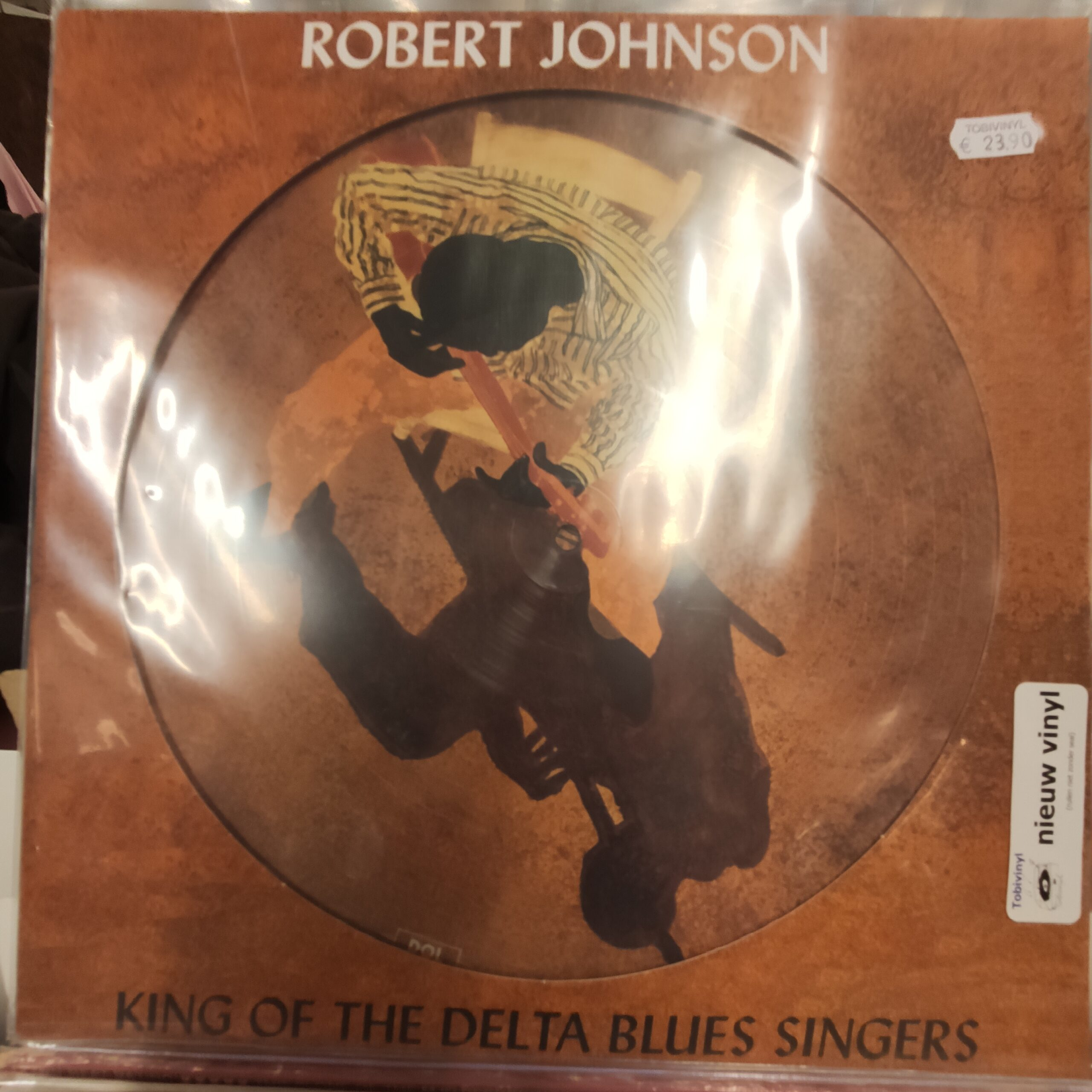 Product image Robert Johnson – king of the delta blues singers – picture disc – nieuw lp