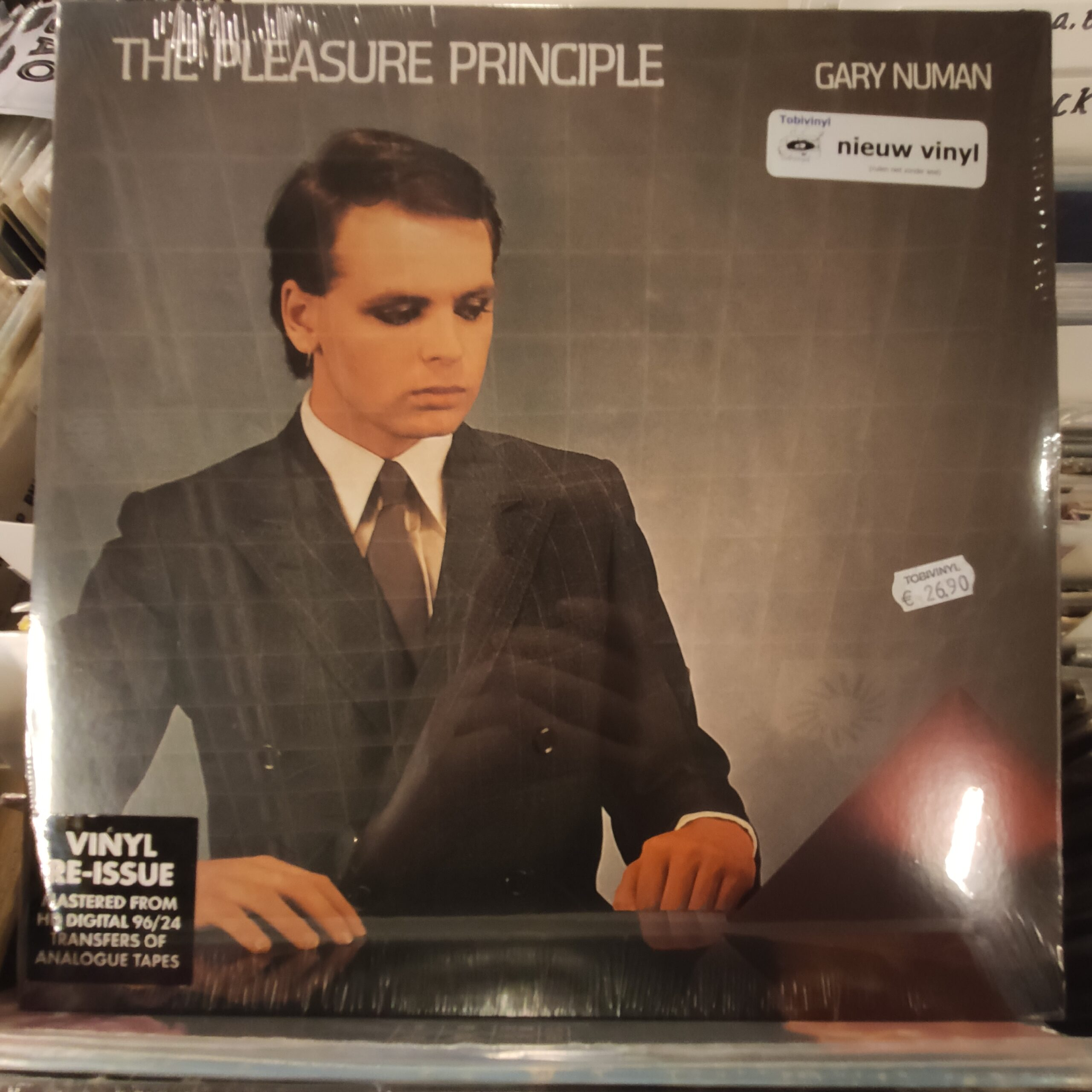 Product image Gary Newman – the pleasure principle – nieuw vinyl