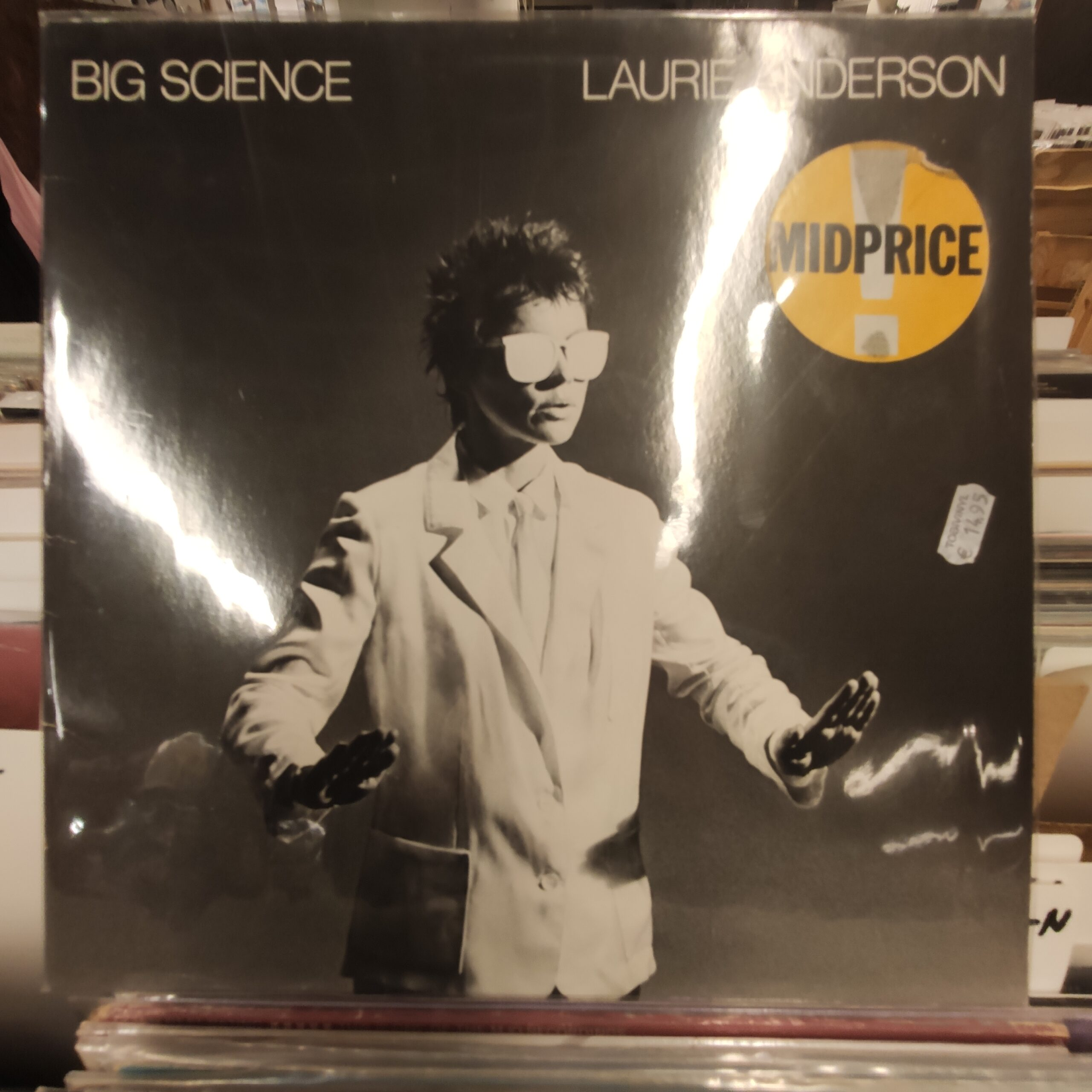 Product image Laurie Anderson – big science – tweede hands lp