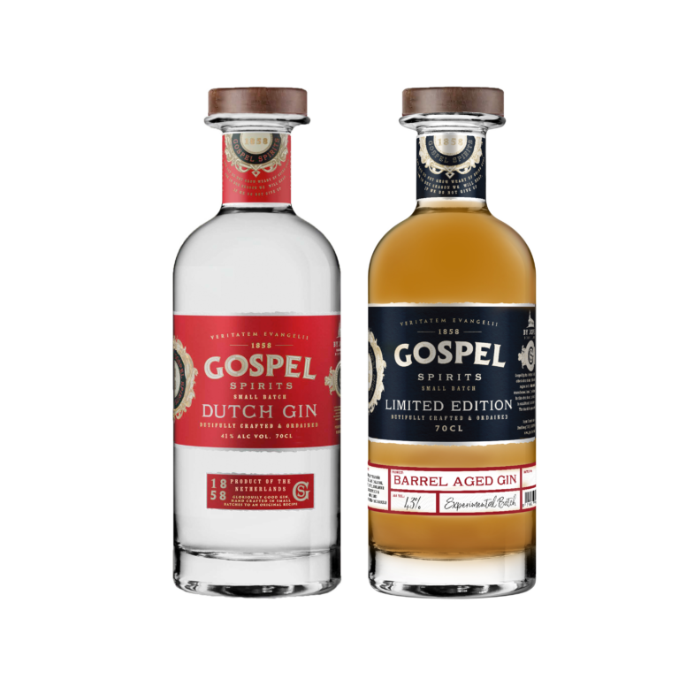 Product image JOPEN GOSPEL SPIRITS CADEAUPACK – DUTCH GIN & BARREL AGED GIN