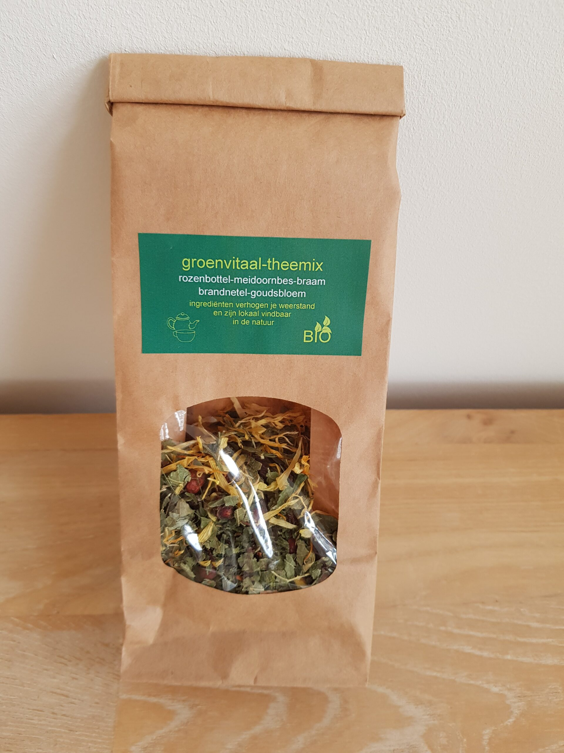 Product image Groenvitaal thee -mix weerstand