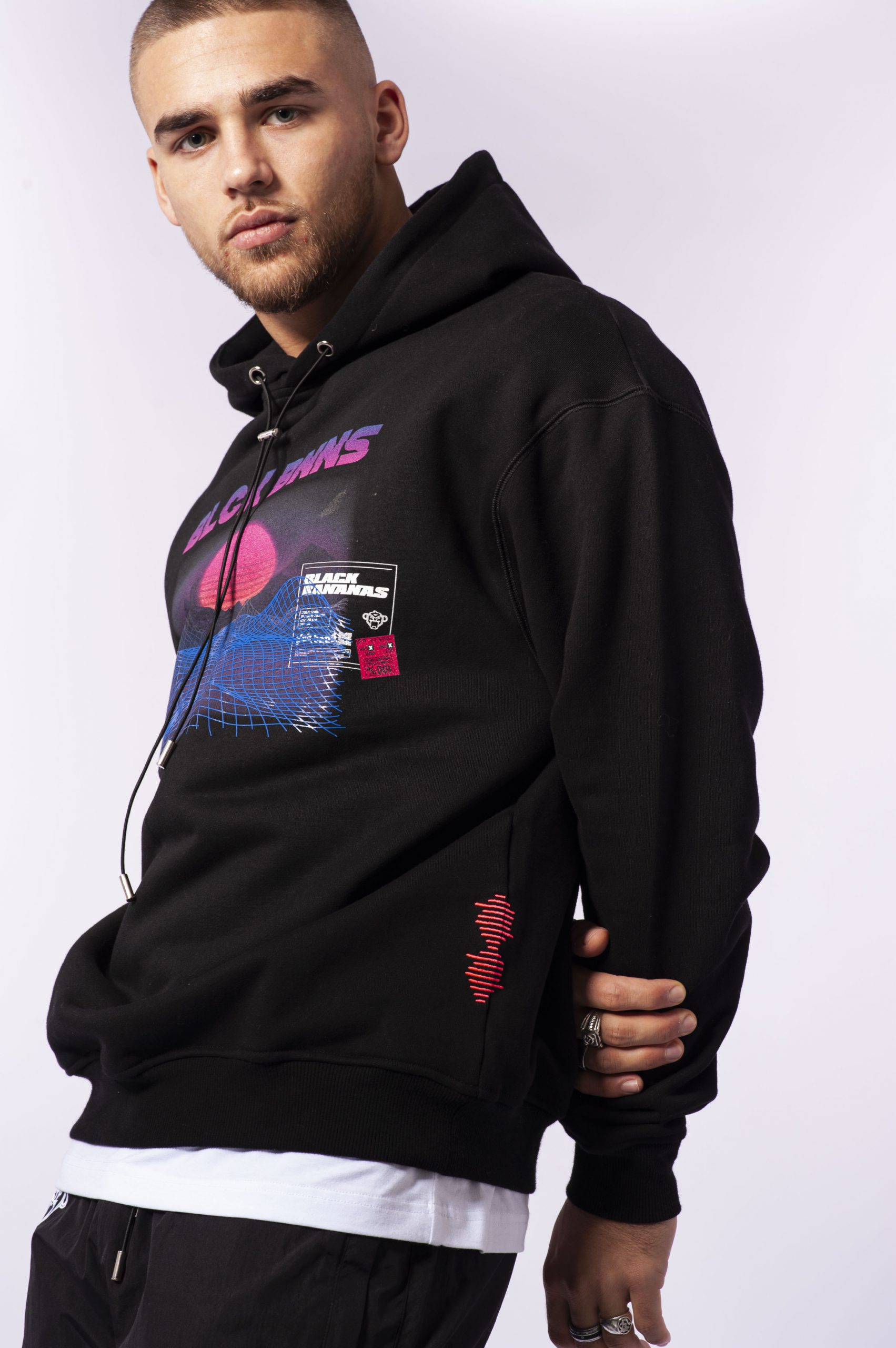 Product image Black Bananas Synthwave hoody