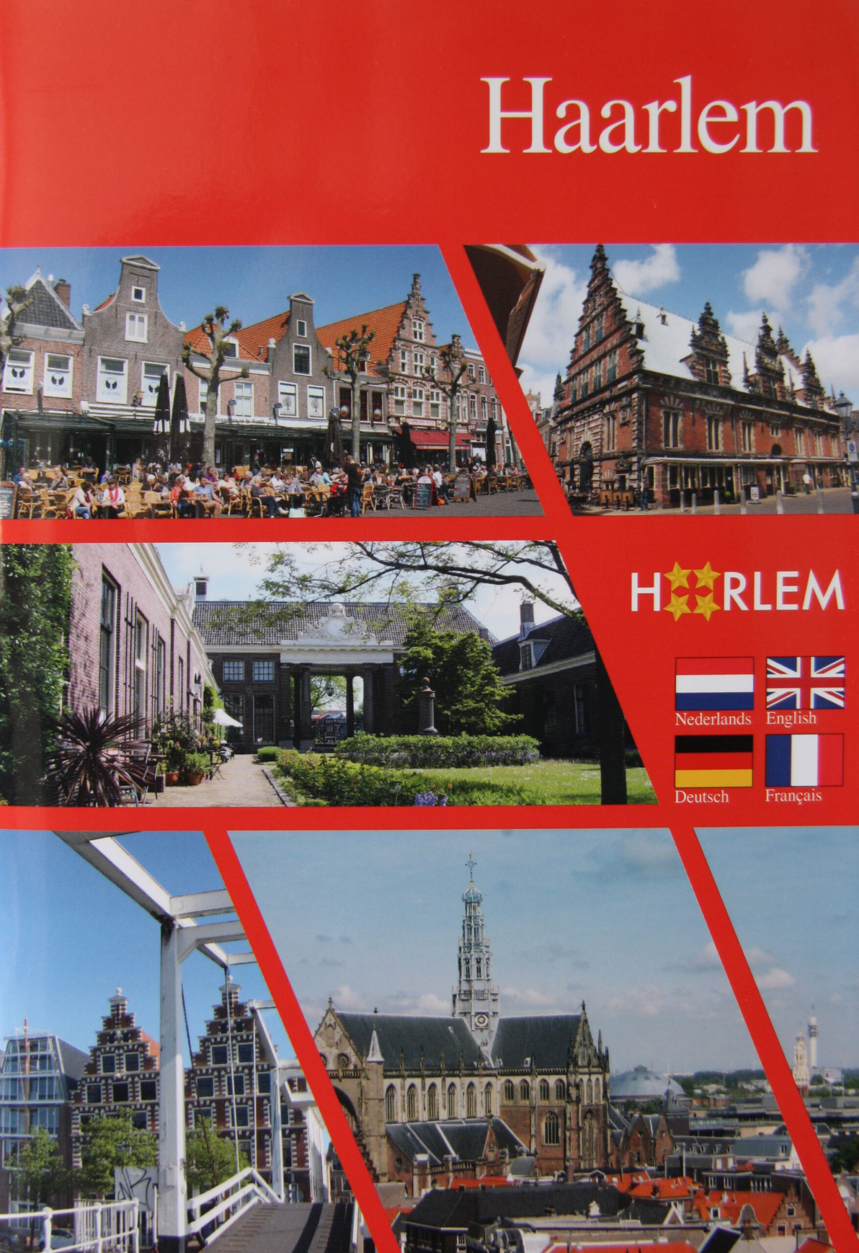 Product image Haarlem in 4 talen